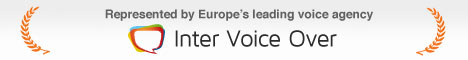 Voice over agency Inter Voice Over - London, Amsterdam, Antwerp