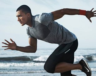 American voice over for Nike athletes